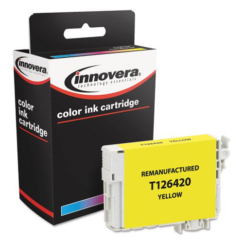 Remanufactured Yellow Ink, Replacement for Epson 126 (T126420), 470 Page-Yield. Picture 3