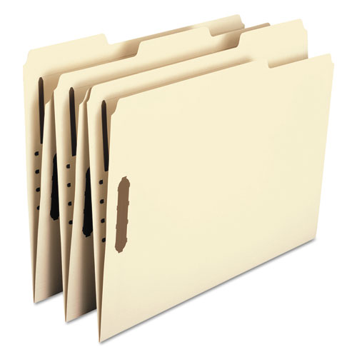 Top Tab 2-Fastener Folders, 1/3-Cut Tabs, Letter Size, 11 pt. Manila, 50/Box. Picture 5