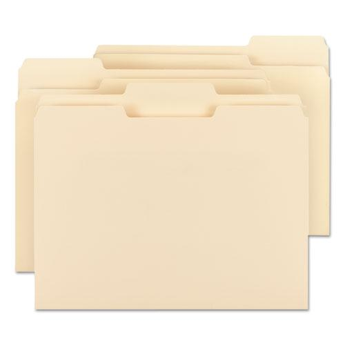 Manila File Folders, 1/3-Cut Tabs, Letter Size, 100/Box. Picture 5
