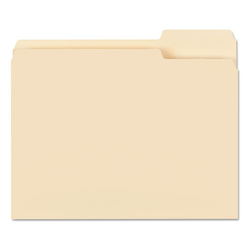 Manila File Folders, 1/3-Cut Tabs, Right Position, Letter Size, 100/Box. Picture 2