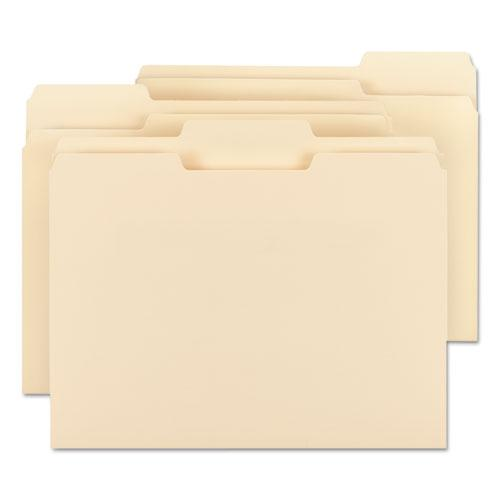 Manila File Folders, 1/3-Cut Tabs, Letter Size, 100/Box. Picture 6