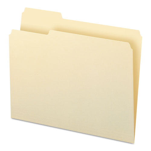 Manila File Folders, 1/3-Cut Tabs, Right Position, Letter Size, 100/Box. Picture 4