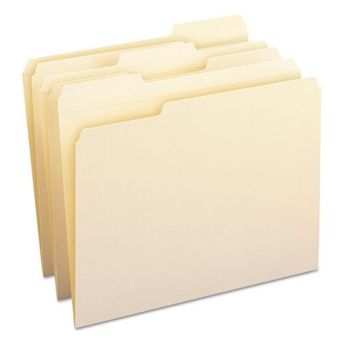 WaterShed Top Tab File Folders, 1/3-Cut Tabs, Letter Size, Manila, 100/Box. Picture 9
