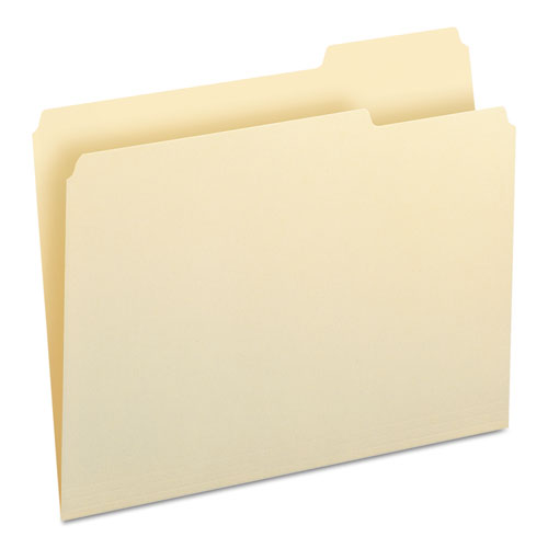 Manila File Folders, 1/3-Cut Tabs, Right Position, Letter Size, 100/Box. Picture 7