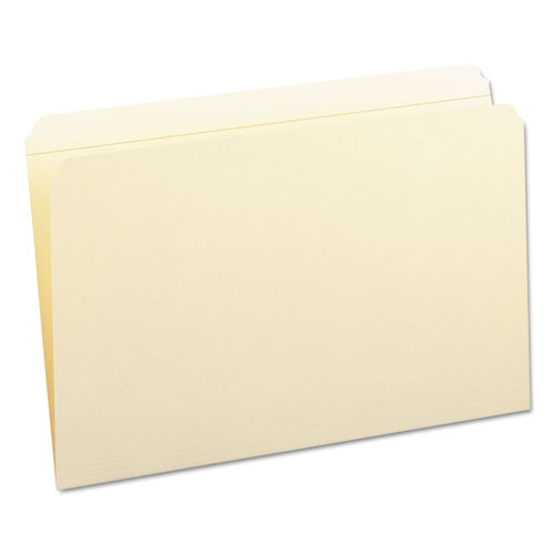 Reinforced Tab Manila File Folders, Straight Tab, Legal Size, 11 pt. Manila, 100/Box. Picture 7