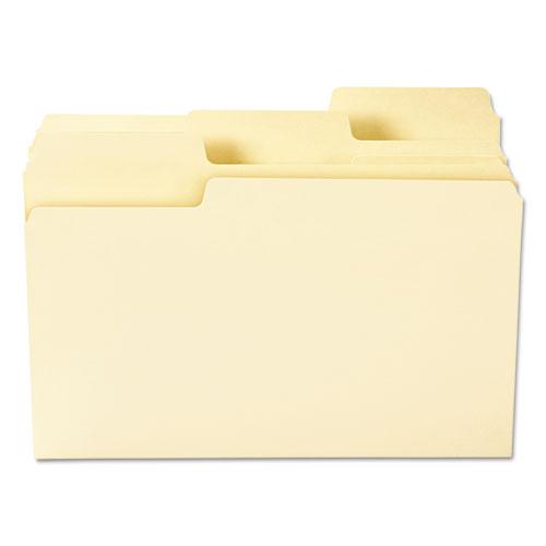 SuperTab Top Tab File Folders, 1/3-Cut Tabs, Legal Size, 11 pt. Manila, 100/Box. Picture 4