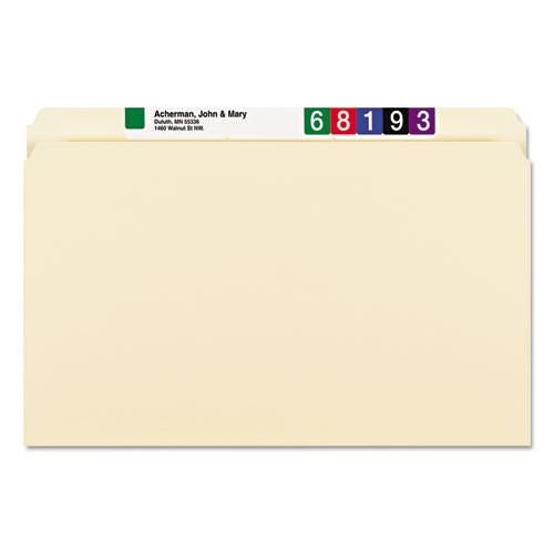 Manila File Folders, Straight Tab, Legal Size, 100/Box. Picture 5