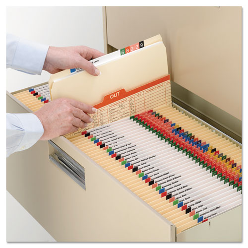 Manila File Folders, Straight Tab, Legal Size, 100/Box. Picture 7