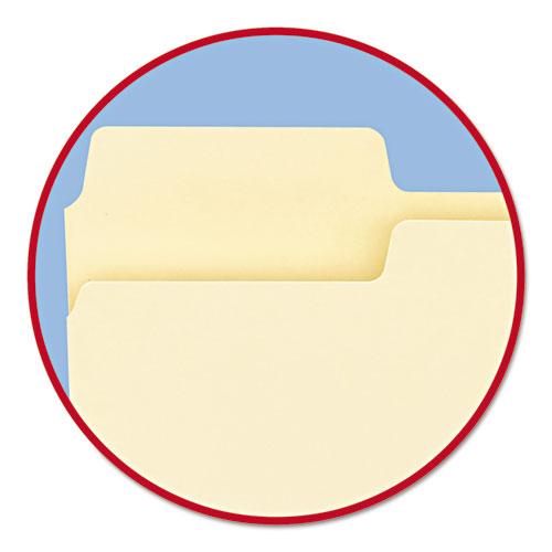 SuperTab Top Tab File Folders, 1/3-Cut Tabs, Legal Size, 11 pt. Manila, 100/Box. Picture 9