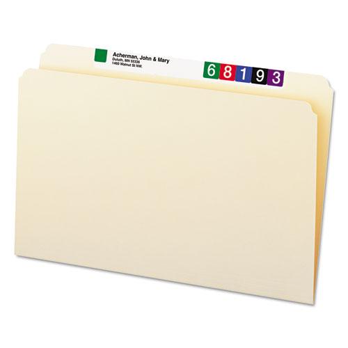 Manila File Folders, Straight Tab, Legal Size, 100/Box. Picture 8