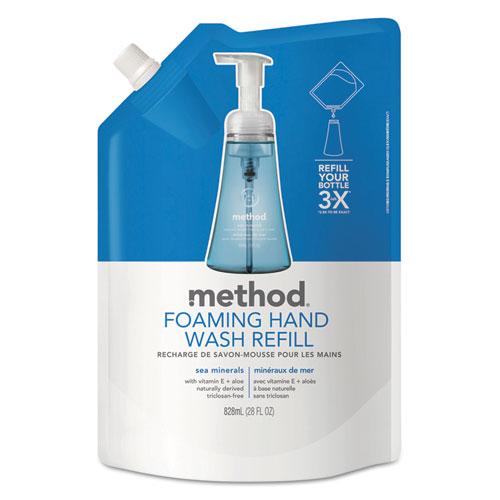 Foaming Hand Wash Refill, Sea Minerals, 28 oz Pouch, 6/Carton. Picture 1
