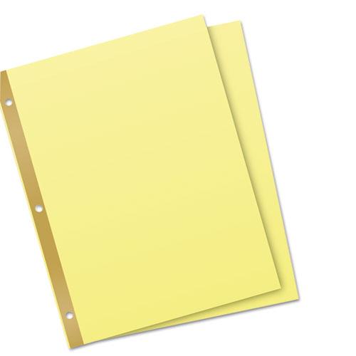 Untabbed Sheet Dividers, Untabbed, Letter. Picture 3