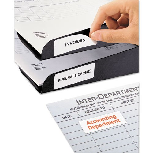 Removable Multi-Use Labels, Inkjet/Laser Printers, 1 x 2.63, White, 30/Sheet, 25 Sheets/Pack. Picture 2