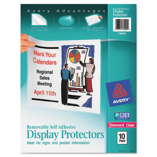 Top-Load Display Sheet Protectors, Letter, 10/Pack. Picture 1