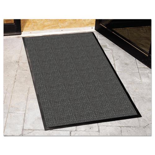 WaterGuard Wiper Scraper Indoor Mat, 36 x 60, Charcoal. Picture 2