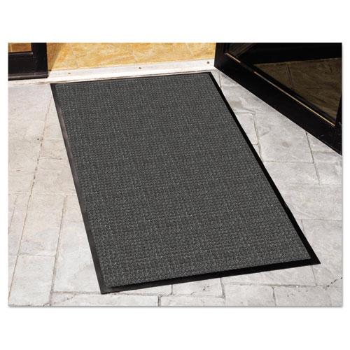 WaterGuard Indoor/Outdoor Scraper Mat, 36 x 120, Charcoal. Picture 2