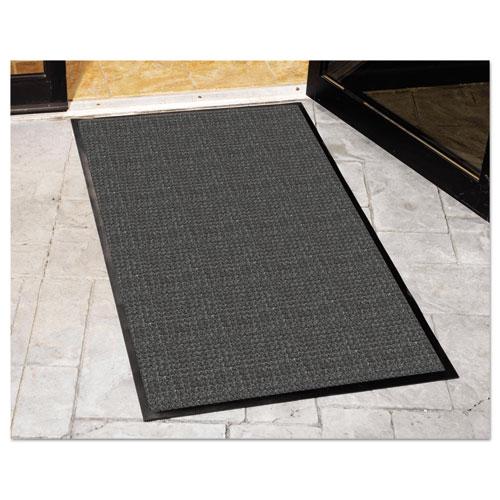 WaterGuard Indoor/Outdoor Scraper Mat, 48 x 72, Charcoal. Picture 2
