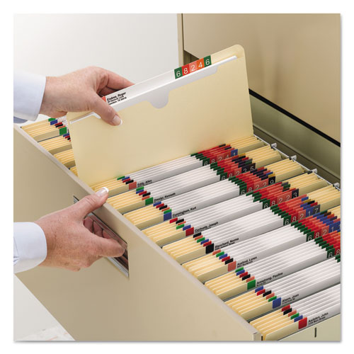 Manila File Jackets, 2-Ply Straight Tab, Legal Size, Manila, 100/Box. Picture 3