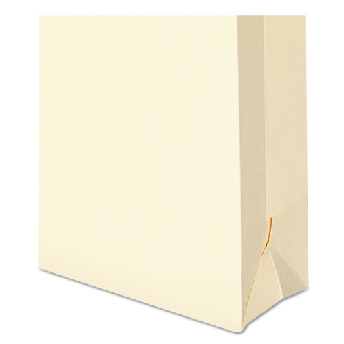 100% Recycled Top Tab File Jackets, Straight Tab, Letter Size, Manila, 50/Box. Picture 2