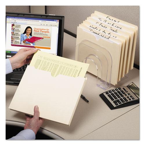 Manila File Jackets, 2-Ply Straight Tab, Legal Size, Manila, 50/Box. Picture 2
