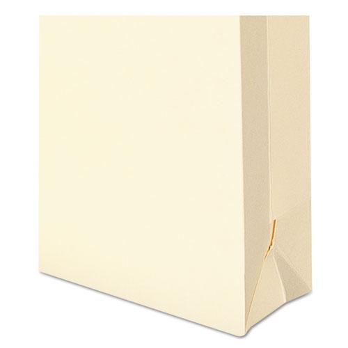 Manila File Jackets, 1-Ply Straight Tab, Legal Size, Manila, 50/Box. Picture 3
