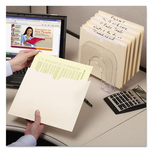 Manila File Jackets, 2-Ply Straight Tab, Legal Size, Manila, 100/Box. Picture 4