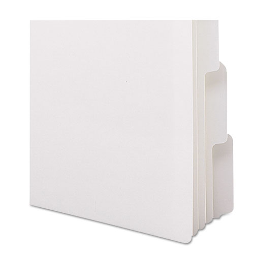 Three-Ring Binder Index Divider, 5-Tab, 11 x 8.5, White, 1 Set. Picture 3