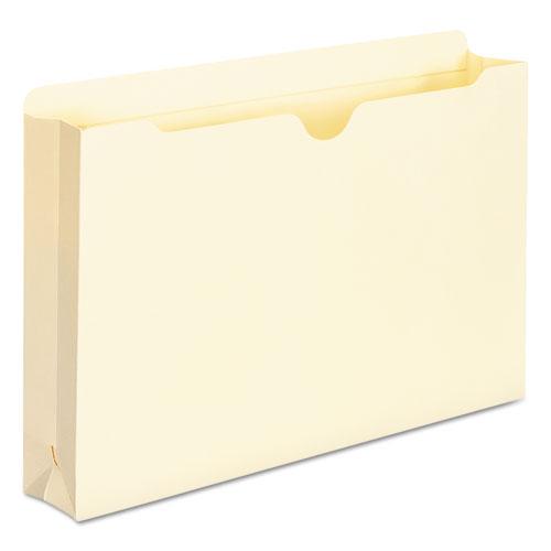 Manila File Jackets, 2-Ply Straight Tab, Legal Size, Manila, 50/Box. Picture 6