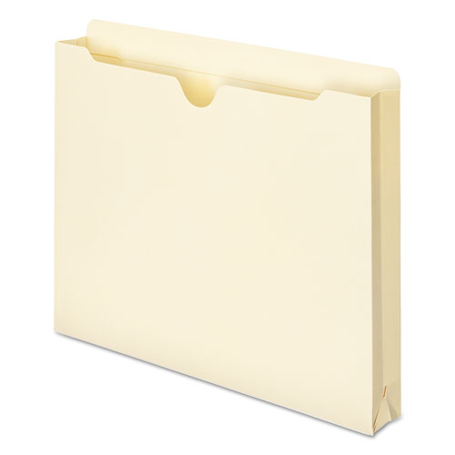Manila File Jackets, 2-Ply Straight Tab, Letter Size, Manila, 50/Box. Picture 8