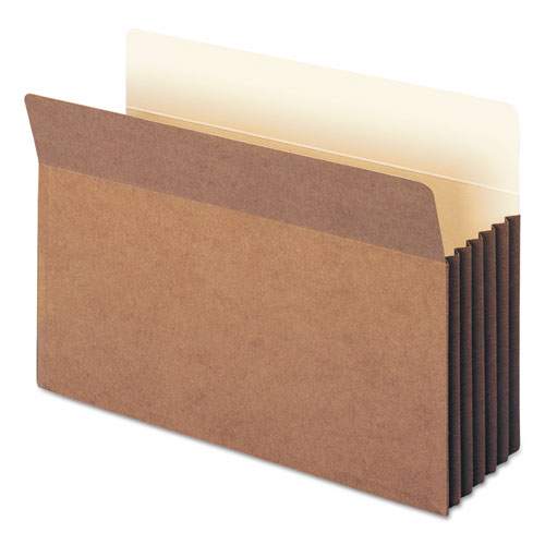 """Redrope TUFF Pocket Drop-Front File Pockets w/ Fully Lined Gussets, 5.25"""" Expansion, Legal Size, Redrope, 10/Box. Picture 5"""