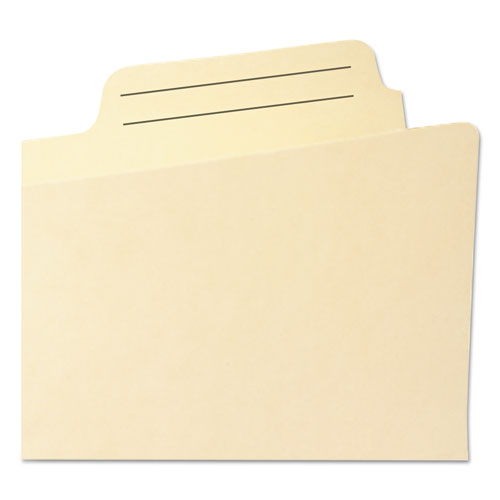 "Manila File Pockets, 1"" Expansion, Legal Size, Manila. Picture 4"
