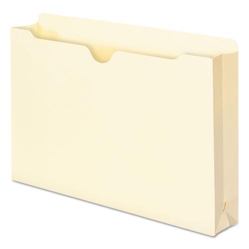 Manila File Jackets, 1-Ply Straight Tab, Legal Size, Manila, 50/Box. Picture 8