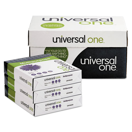 Deluxe Multipurpose Paper, 98 Bright, 20lb, 8.5 x 11, Bright White, 500 Sheets/Ream, 10 Reams/Carton. Picture 4