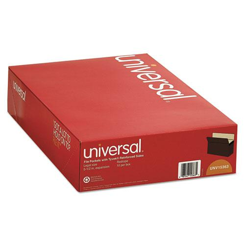 """Redrope Expanding File Pockets, 5.25"""" Expansion, Legal Size, Redrope, 10/Box. Picture 3"""
