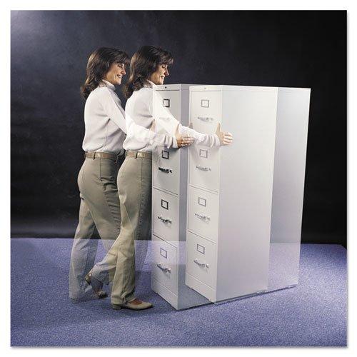 Cabinet Floor Savers, Triangular, 7w x 1.13d x 8h, Beige, 4/Pack. Picture 2