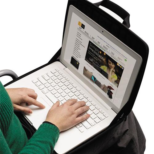 "Laptop Sleeve for 13"" Chromebook or Laptops, 14 1/4 x 1 7/8 x 11, Black"
