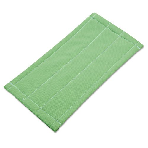 Microfiber Cleaning Pad, Green, 6 x 8. Picture 1