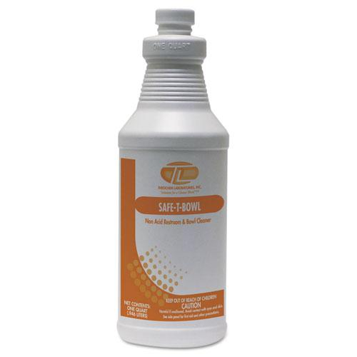 Safe-T-Bowl Liquid Toilet Bowl Cleaner, 32 oz Bottle, 12/Carton. Picture 1