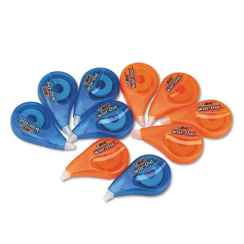 """Wite-Out EZ Correct Correction Tape Value Pack, Non-Refillable, 1/6"""" x 472"""", 10/Box. Picture 2"""
