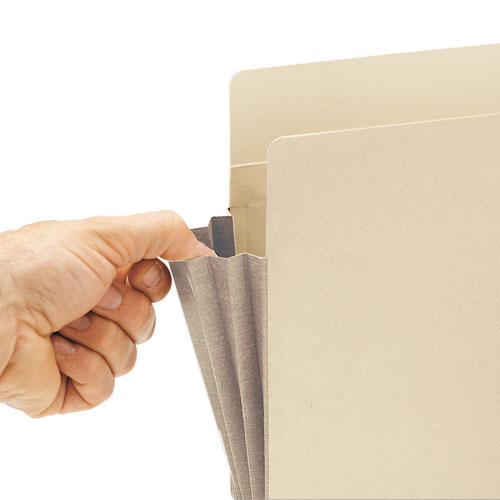 "Manila End Tab File Pockets, 5.25"" Expansion, Letter Size, Manila, 10/Box. Picture 3"