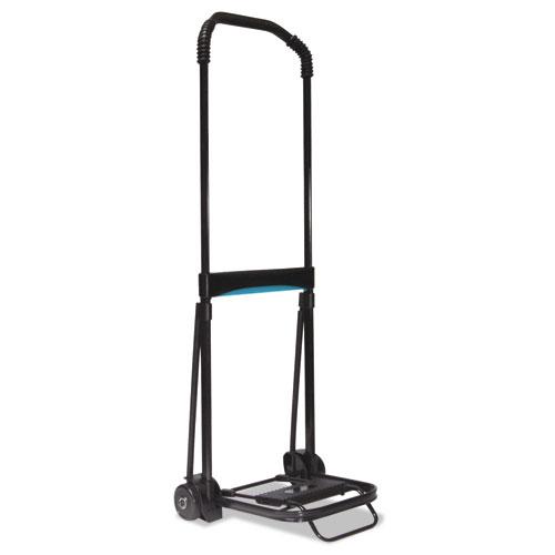 Ultra-Lite Folding Cart, 150 lb Capacity, 9.75 x 11 Platform, Black. Picture 1