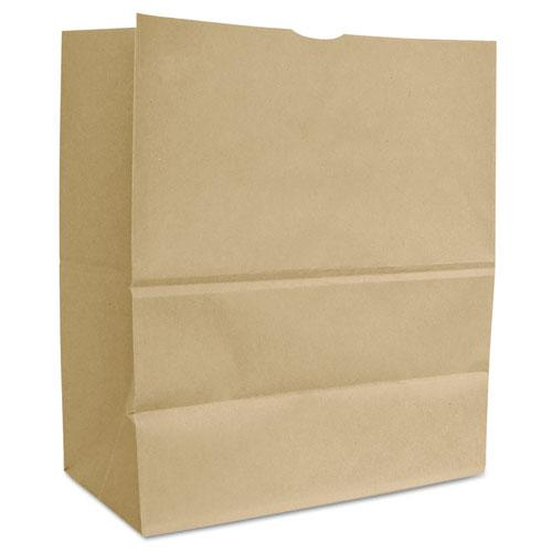 "Grocery Paper Bags, 66 lbs Capacity, 1/6 BBL, 12""w x 7""d x 17""h, Kraft, 500 Bags. Picture 1"