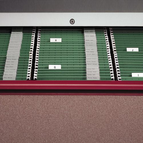 Hanging Folders, Legal Size, 1/5-Cut Tab, Standard Green, 25/Box. Picture 5