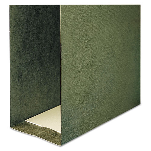 Box Bottom Hanging File Folders, Letter Size, Standard Green, 25/Box. Picture 5