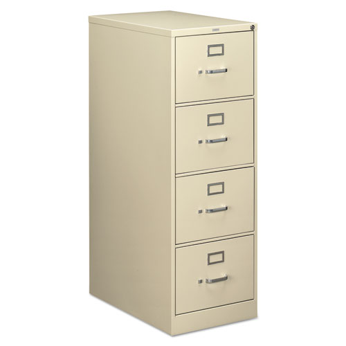 210 Series Four-Drawer, Full-Suspension File, Legal, 28-1/2d, Putty. Picture 1