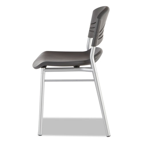Iceberg Caf 233 Works Caf 233 Chairs 2 Pack Graphite