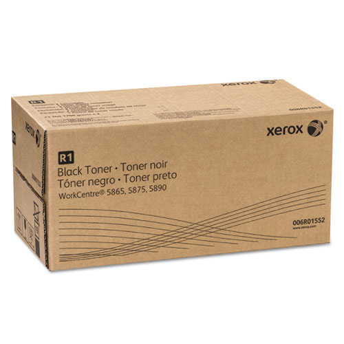 006R01552 Toner, 110000 Page-Yield, Black. Picture 1