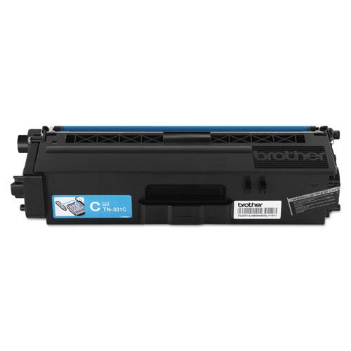 TN331C Toner, 1,500 Page-Yield, Cyan. Picture 1