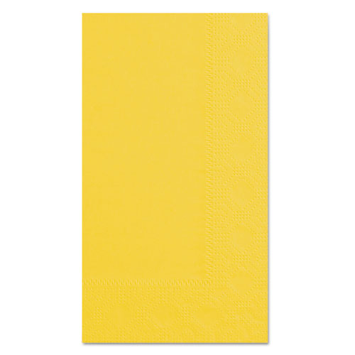 Dinner Napkins, 2-Ply, 15 x 17, Sun, 1000/Carton. Picture 1