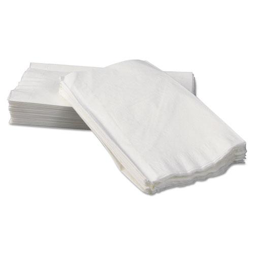 Tall-Fold Dispenser Napkins, 2-Ply, 7 x 13 1/4, White, 500/Pack, 20 Packs/Carton. Picture 1